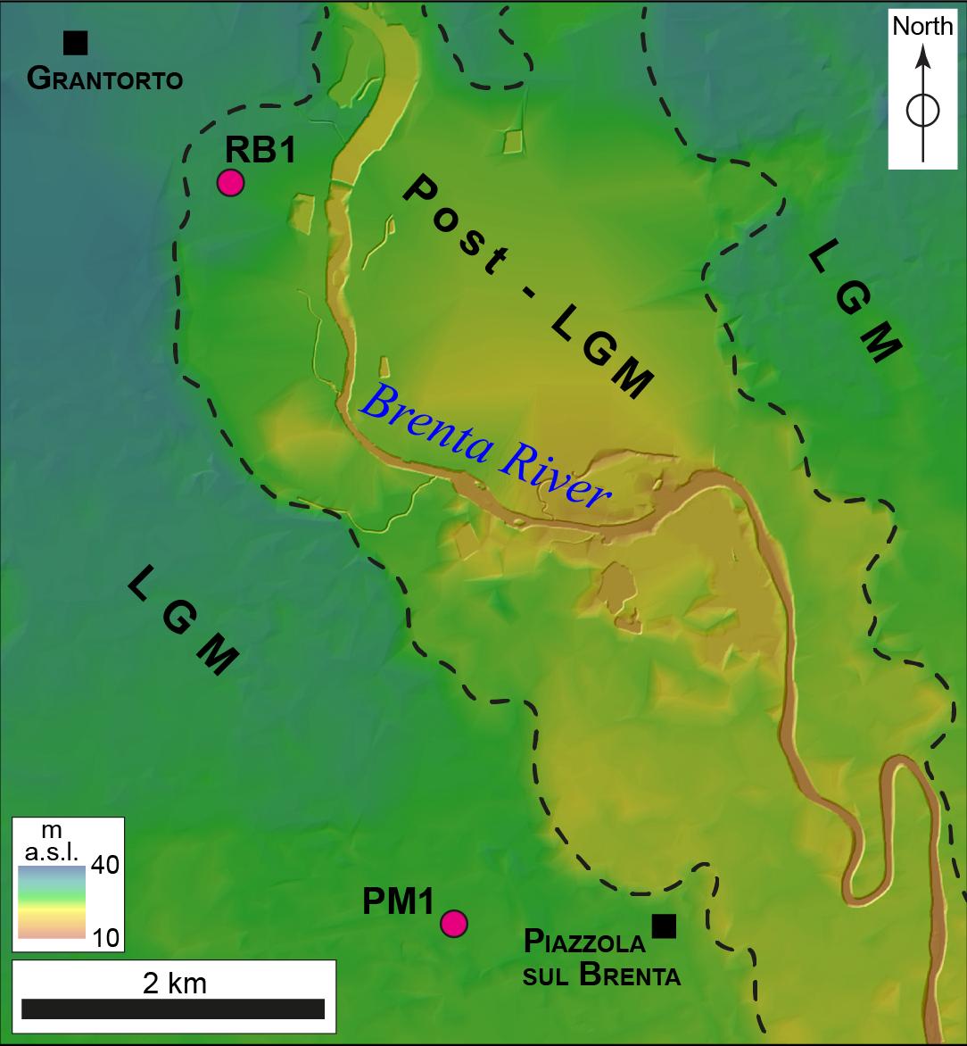 ESurf - Glacial dynamics in pre-Alpine narrow valleys during the